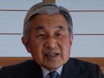 """Em pronunciamento à rede pública de televisão japonesa NHK, o imperador do Japão, Akihito, se declarou """"profundamente preocupado"""""""
