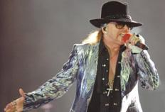 Axl Rose diz que reunião com ex-parceiros do Guns N'Roses é possível Mauro Vieira/