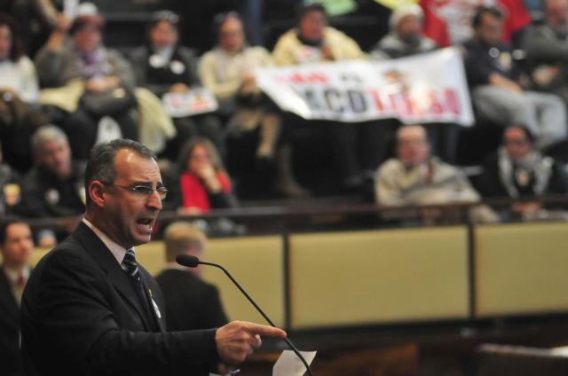Assembleia aprova emendas ao projeto da Previdência do governador Tarso Genro Marco Couto/Ag. AL