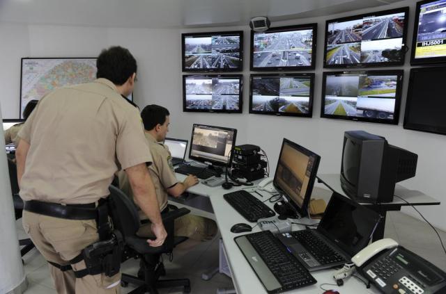 Câmeras de monitoramento da BR-116, entre Porto Alegre e Novo Hamburgo, começam a funcionar Fernando Gomes/Agencia RBS
