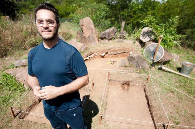 Sítio arqueológico com fóssil de sereia é exposto no Jardim Botânico Tárlis Schneider/Agencia RBS
