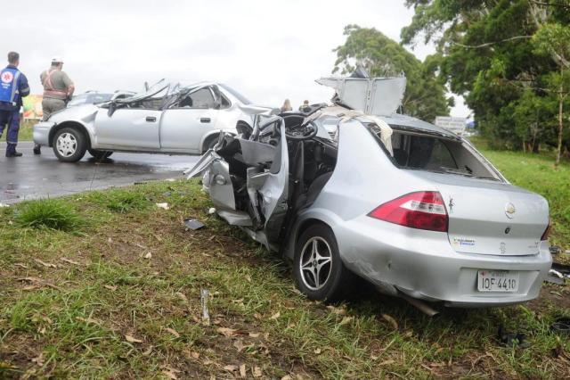 Motorista de Vectra envolvida em acidente na Estrada do Mar é presa em flagrante Ricardo Duarte/Agencia RBS
