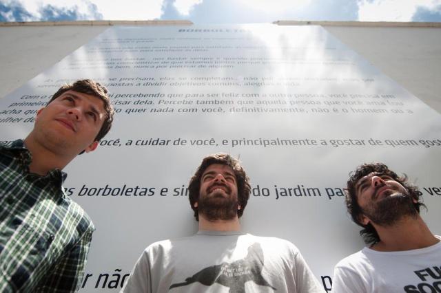 Com poema de Mário Quintana, obra de publicitários incentiva a leitura  Tárlis Schneider/Agencia RBS