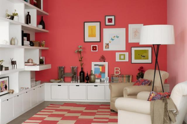 Na Mostra Casa&Cia, o visitante poderá fazer um teste virtual de pintura de paredes Divulgação/Coral