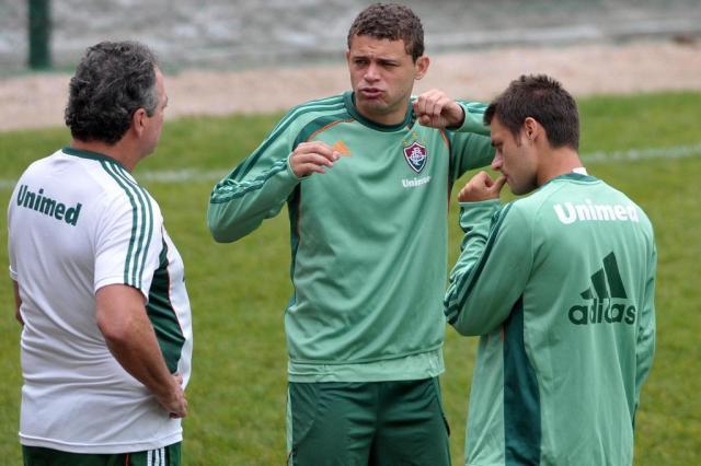 Com três gols, Rafael Sobis se destaca em treino do Fluminense Dhavid Normando/Photocamera