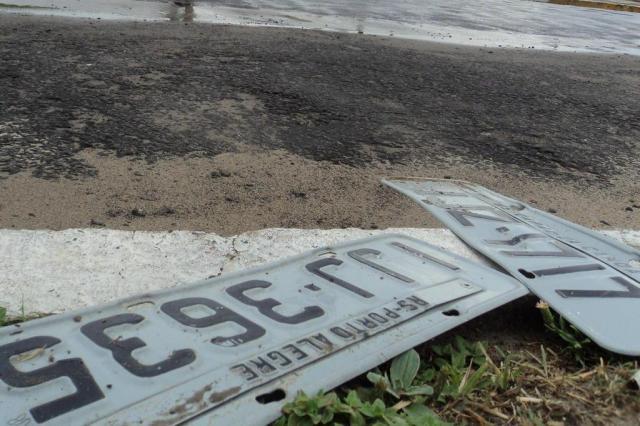 Perdeu a placa do carro na chuvarada? Saiba o que fazer João Vitor Santos/Agencia RBS