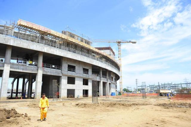 Obras no entorno da Arena preocupam Odone: Já não vai ter a BR-448, agora diz que não vai ter asfalto? Omar Freitas/Agencia RBS