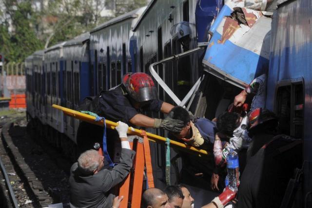 Sobe para 600 o número de feridos em acidente ferroviário na Argentina Leonardo Zavattaro/AP
