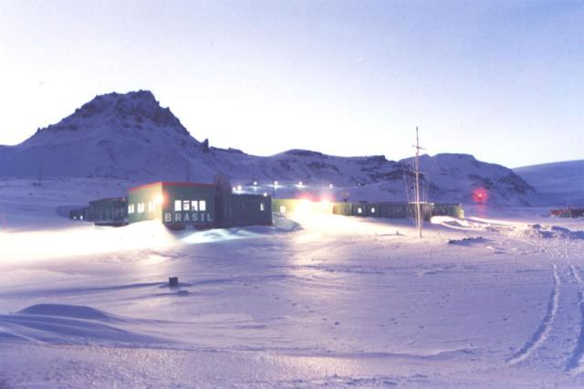 Perda na Antártica foi total, diz pesquisadora Odair Amancio, Divulgação/
