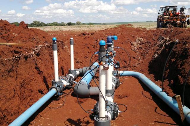 Técnica de irrigação subterrânea israelense será implantada em lavoura gaúcha Roberto Witter/Agência RBS