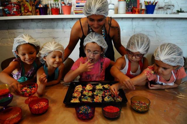 Nas telas e nos livros, crianças mostram talento na cozinha Emílio Pedroso/Agencia RBS