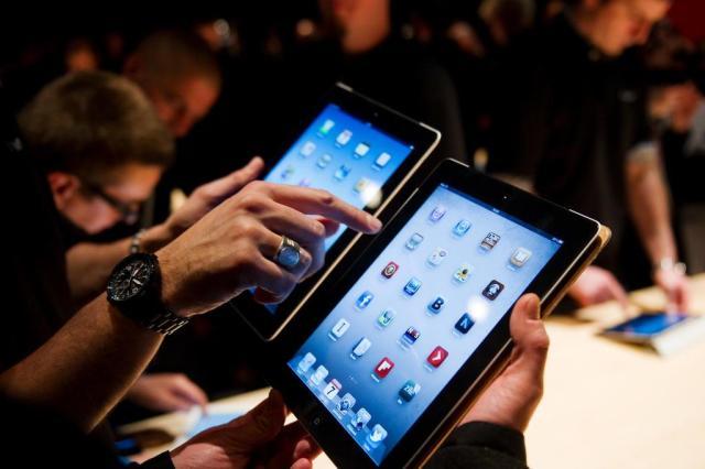 Começa nesta sexta-feira a venda do novo iPad no Brasil Leon Neal/AFP
