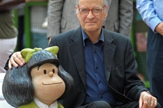 Homenagens obrigam Quino a esclarecer que Mafalda faz 50 anos em 2014  Reprodução/Internet