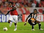 Mais uma no jodo do Colorado contra o Santos, também pela Libertadores 2012