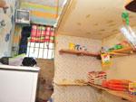 Obras em uma nova cozinha estão paradas há quase dois anos