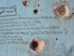 Texto na parede mostra desesperança na ressocialização