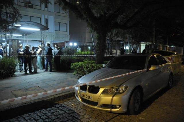 Empresário é morto em tentativa de assalto no bairro Mont'Serrat, na Capital  Adriana Franciosi/Agencia RBS
