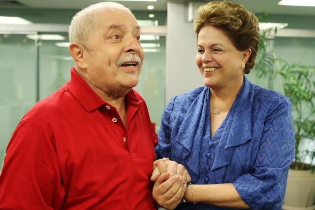 Dilma e Lula se reúnem por quase três horas em São Paulo Ricardo Stuckert,Instituto Lula/Divulgação