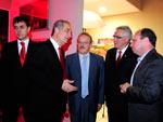 O governador Tarso Genro participou da comemoração dos 103 anos do Internacional