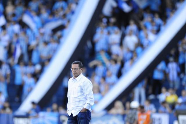 """Luxemburgo evita euforia após goleada: """"Para passar confiança estamos longe"""" Ricardo Duarte/"""
