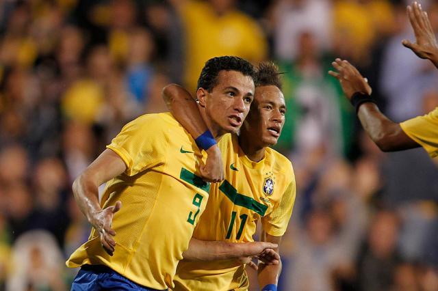 Ronaldo aponta Damião como seu substituto na Seleção Brasileira Rafael Ribeiro, Divulgação CBF/