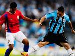 De olho em uma vaga na final da Taça Farroupilha, Grêmio e Canoas se enfrentaram na tarde deste sábado no Estádio Olímpico
