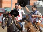 O grande campeão foi Suprema Atropelo, da Estância Liberdade, do município de Rolante (RS), que foi montado pelo ginete César Augusto Schell Freire e fez 21,516 pontos