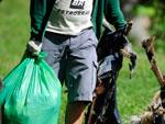 O grupo foi formado em três semanas, sem vínculo com entidades, com único objetivo de incentivar a consciência ambiental