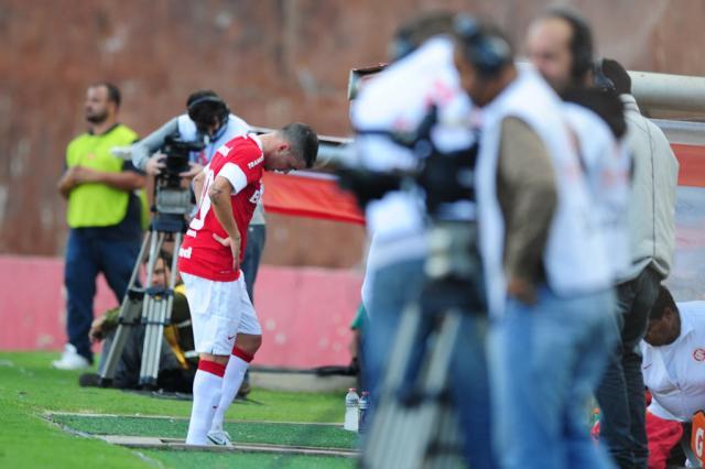 Sem o camisa 10: D'Alessandro está fora da partida contra o Fluminense Fernando Gomes/