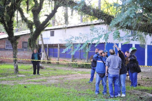 Homem morre enforcado no bairro Chácara das Pedras, em Porto Alegre Tadeu Vilani/Agencia RBS