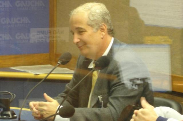 """Luigi: """"Não vejo o São Paulo ameaçando o Inter, mas sim jogando com o tempo"""" Guilherme Becker/AgênciaRBS"""