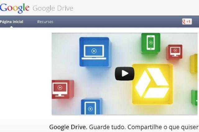 Google Drive é lançado e acirra competição entre serviços de armazenamento Reprodução/Reprodução