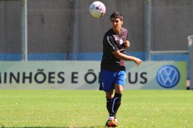 """Bertoglio comenta expectativa pelo primeiro Gre-Nal: """"Estou ansioso"""" Lucas Uebel/Divulgação,Grêmio"""