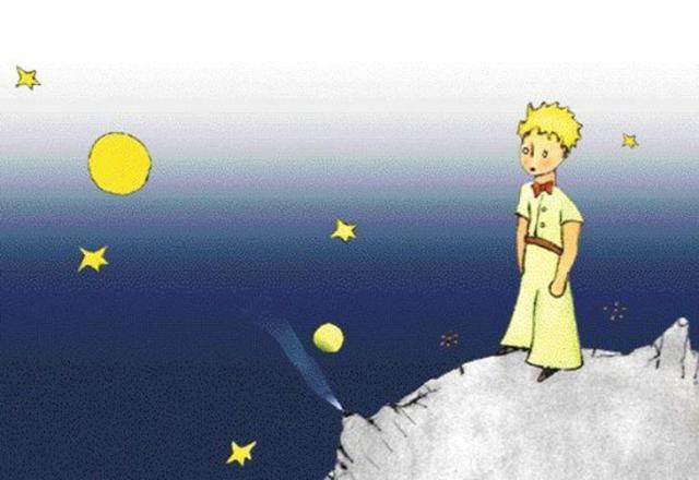 """Rascunho de """"O Pequeno Príncipe"""" será leiloado em Paris Livro Pequeno Príncipe/Reprodução"""