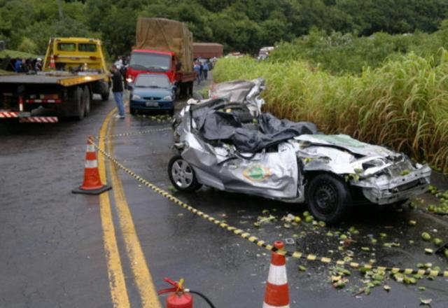 Trecho em que ocorreu acidente em Farroupilha está sem pardal desde novembro de 2010 Ricardo Wolffenbüttel/Agência RBS