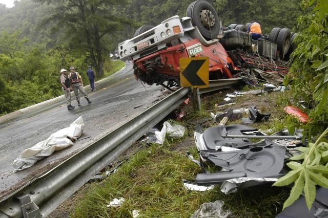Relembre acidentes graves na Curva da Morte nos últimos anos na serra gaúcha  Daniela Xu/Agencia RBS