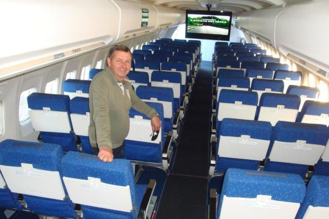 Colecionador restaura Boeing e instala cinema dentro Roberto Witter/Agencia RBS
