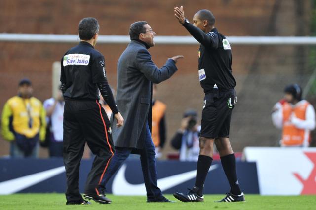 Súmula do Gre-Nal deve levar Vanderlei Luxemburgo à justiça desportiva Diego Vara/