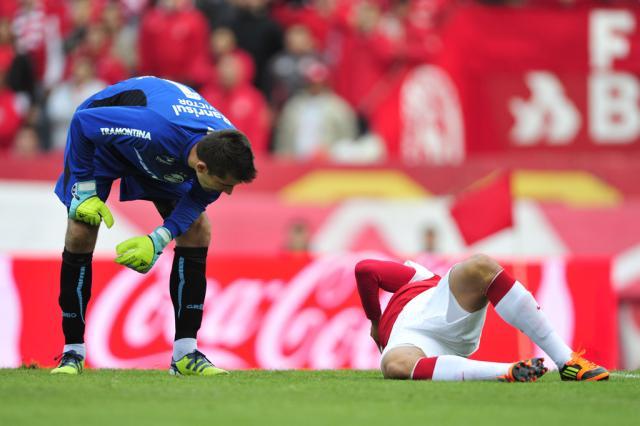 """Victor evita apontar responsáveis por derrota: """"O erro é de todo mundo"""" Diego Vara/"""