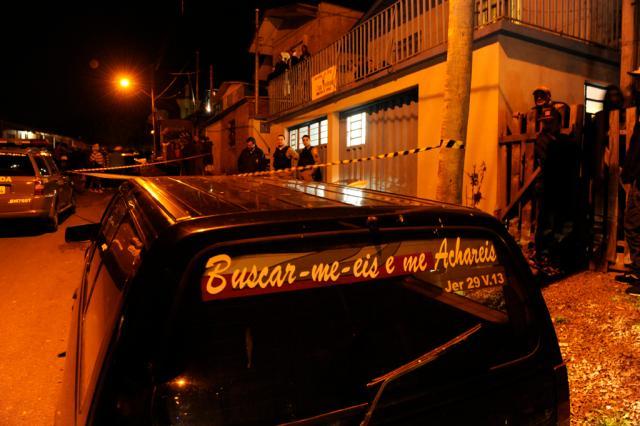 Casal é morto dentro de igreja no bairro Belo Horizonte, em Caxias do Sul  Ricardo Wolffenbüttel/