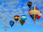 Balões coloriram o céu de Torres