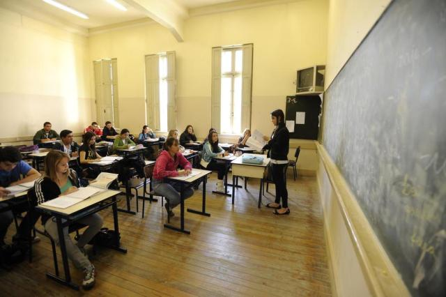 Pesquisa da Unisinos avalia nível de estresse em professores do ensino privado Claudio Vaz/Agencia RBS