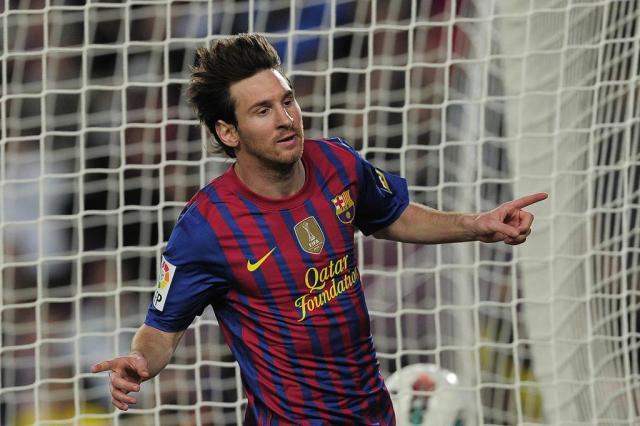Barcelona goleia Málaga e Messi quebra mais um recorde Josep Lago/AFP