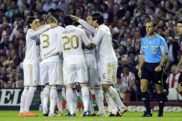 Real Madrid vence Athletic de Bilbao e leva o título do Campeonato Espanhol Ander Gillenea/AFP
