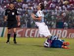 André Lima foi o titular do ataque, ao lado de Marcelo Moreno
