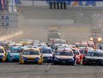 A terceira etapa da Copa Caixa Stock Car 2012 foi realizada na manhã deste domingo no Autódromo Internacional Velopark, em Nova Santa Rita