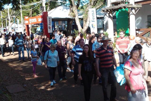 Vendas na Fenasoja superam expectativas Deise Froelich/Agencia RBS