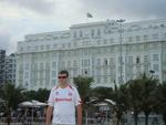 """""""Vale a pena admirar a imponência do hotel Copacabana Palace"""""""