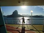 """""""Não importa o ângulo do Rio de Janeiro, mesmo a bordo de um cruzeiro, a imagem sempre será de uma cidade linda e maravilhosa"""""""
