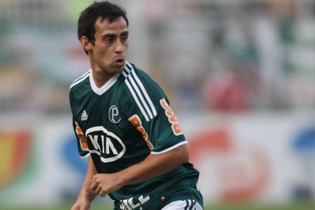 Meia Valdivia elogia técnico Felipão e bom ambiente do Palmeiras JF DIORIO/Agência Estado